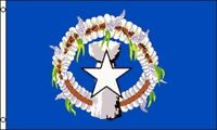 Flag of Saipan 3x5 ft Commonwealth of Northern Mariana Islands CNMI NMI Guam US