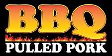 2'x4' BBQ Pulled Pork - Vinyl Banner Sign