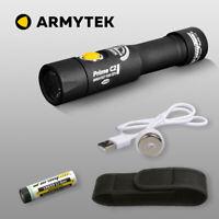 Armytek Prime C2 XP-L Warmweiß LED Taschenlampe USB Aufladbar Täglich Handlampe
