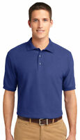Port Authority Men's Short Sleeve Wrinkle Resist Golf Polo Shirt XS-6XL. K500