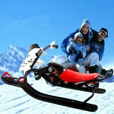 Snowboard Skating Car Snow Sled for Kids Snow Racer Sled Ages 6 and Up