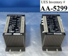 Rorze RD-323 M10 2P Micro Step Driver Lot of 2 Used Working