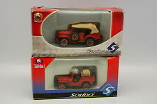 Solido 1/50 - Lot de 2 Dodge et Jeep Pompiers