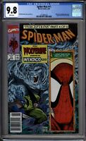 Spider-Man 11 CGC Graded 9.8 NM/MT Newsstand McFarlane Marvel Comics 1991