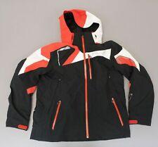 Spyder Men's Zip-Up Insulated Hooded Titan Ski Jacket MC7 Multi-Color Size XL