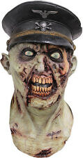 HEER ZOMBIE ARMY SOLDIER LATEX SCARY HALLOWEEN HEAD & CHEST MASK