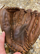 "Vintage ""The A2000"" WILSON Leather Baseball Glove Made In The USA"