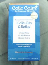 Colic Calm Plus Homeopathic Gripe Water 2 Fl. Oz Professional Strength Colic