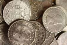 10 HALFCROWNS BULK LOT OF OLD BRITISH COINS