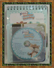 NEW HOOKED ON PHONICS Toddler DISCOVER READING 18- 36 Months NEW SEALED