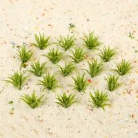 50pcs Model Ground Cover Grass Green Railroad Layouts Scenery HO scale 1:60-1:75