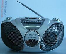 RADIO PORTÁTIL AM/FM SILVANO SL-2004A TAMAÑO PEQ. DE SOBREMSA