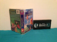 The Lion King VHS tape & clamshell case