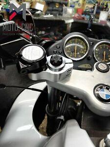 BMW R1100s Billet CNC Bar Riser Kit Conversion Bar Backs  Manufactured In The UK