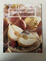 Vintage Christmas 1994 HARRY AND DAVID Gift Catalog