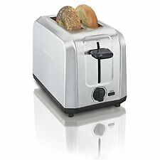 Hamilton Toasters Beach Brushed Stainless Steel 2-Slice (22910)