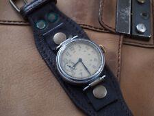 USSR WW2 Kirovskie 1GChZ soviet military wrist watch 1938 original dial strap