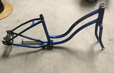 VINTAGE 1980 SCHWINN STINGRAY LIL CHIK BIKE FRAME Blue Muscle Bicycle MR641313