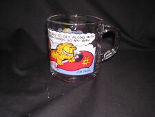 "VTG McDonalds Garfield Mug ""I'm East to Get Along With When Things Go My Way"""