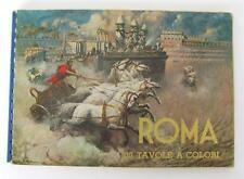1950s VINTAGE COLOR PHOTO ALBUM OF ROME