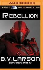 Star Force: Rebellion 3 by B. V. Larson and Nora Roberts (2015, MP3 CD,...