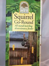 Heritage Farms Squirrel Go-Round Corn Tree 4 Pole Green Model 7555