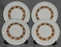 Set (4) Copeland Spode MADEIRA PATTERN Salad Plates MADE IN ENGLAND