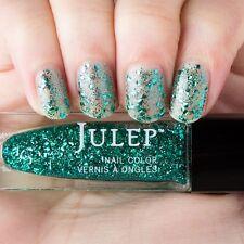NEW! Julep nail polish ESMERALDA ~ Jeweled emerald multi-dimensional glitter