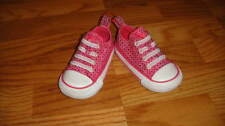CONVERSE GIRLS TODDLER 4 PINK SPARKLE SHOES
