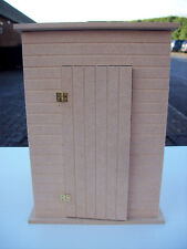 12th Scale Outdoor Loo or shed (Kit)