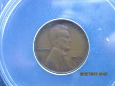 1924-S LINCOLN CENT ANACS CERTIFIED EF(xf)-40