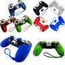 Silicone Skin Cover Case for Playstation PS4 Controller +2 Joystick Caps Rakish
