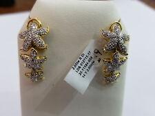 Aya Azrielant 18K & Diamond 2ct Starfish Earrings
