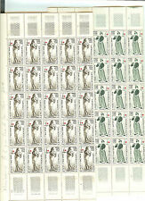 YVERT N° 1400 + 401 x 50 CROIX ROUGE 1963 NEUFS sans CHARNIERES