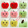 Christmas Gifts Lovely Small apple Hold pillow Cushion Warm hand Plush toys