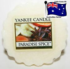 YANKEE CANDLE Tart Melt * Paradise Spice  * FREE Postage for ADDITIONAL TARTS