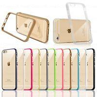 Bumper Ultra Thin Slim TPU Gel Skin Cover Case Pouch for iPhone 8 7 6s 6 Plus 5