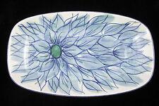 Vtg Ltd Ed Royal Copenhagen Fajance Tenera Flower Dish Tray Beth Breyen Denmark