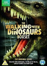 Kids Walking With Dinosaurs BBC Series Complete Collection DVD 4 - Disc Box Set