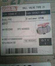 ASAHIAV  BALL VALVE 4 INCH #1602040 NEW