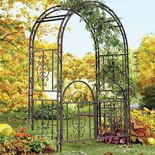 Garden Arbor Arch Gate Trellis Outdoor Pathway Landscape Wedding Yard Decor New