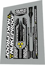 NUKEPROOF Mega 2012 Frame Sticker / Decal Set