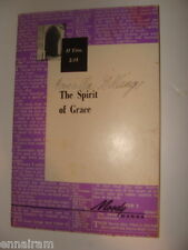Spirit of Grace 1967 Moody Bible Institute Chicago Biblical Studies Booklet
