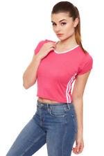 Altri maglie da donna elasticizzati a fantasia righe