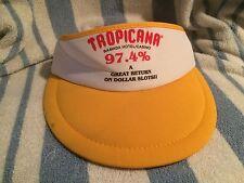 Tropicana Ramada Hotel Casino Logo 97.4 Slot Return Visor Las Vegas Nevada