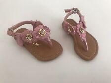 Floral T-Strap Sandal Size 1 Toddler Nib