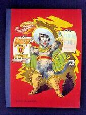 "Imagerie d'Epinal Pellerin""Album D'Images""folio/cartoon panels Eng text INV1475A"