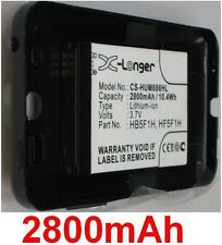 Case+Battery 2800mAh Type HB5F1H, HF5F1H for Huawei: Honor, M886, U8860