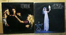 Lot of two (2) FLEETWOOD MAC STEVIE NICKS LP/Vinyl/Record: Mirage & Bella Donna