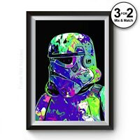 Star Wars Movie Poster,  Stormtrooper Painting Reproduction 100% Cotton Wall Art